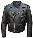 mens tall size buffalo hide leather jacket