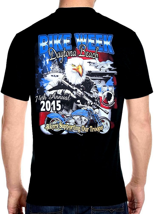 Bike week t shirts