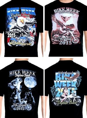 Mens Daytona Beach bike week 2015 T-shirts