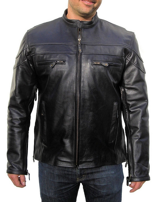 Big Tall Leather Motorcycle Jackets