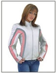 Ladies leather coats, jackets and shirts