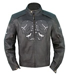 mens racer leather jacket