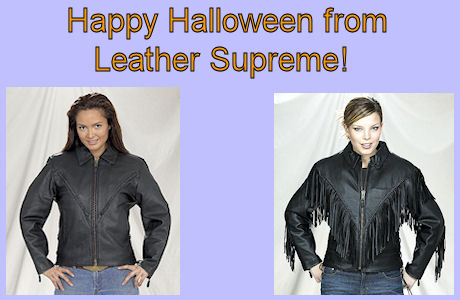 Happy Halloween from leather supreme