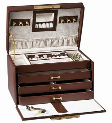 Leather jewelry boxes in all colors and sizes Leather Supreme