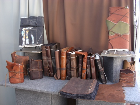 Minds Eye Journals, leather journals