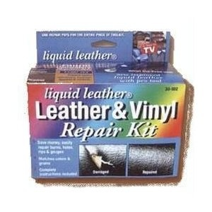 to repair leather cuts and burns with a leather repair kit leather