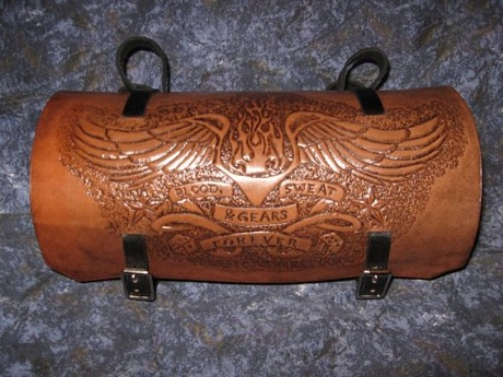 What is tooled leather and using tooling leather tools