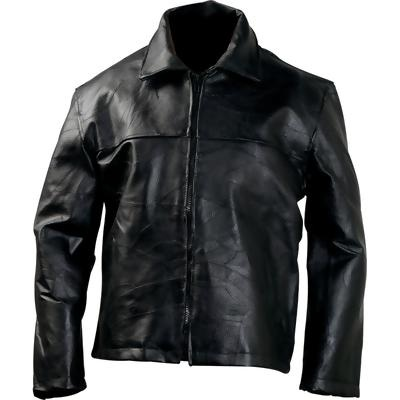Bonded leather, patchwork leather jackets
