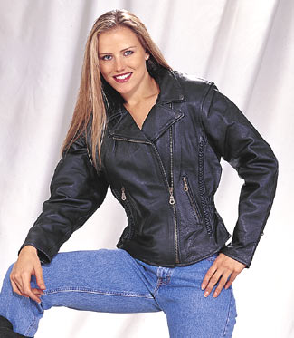 thickness of leather hides in leather jackets