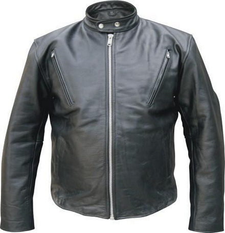 difference between scooter or racer leather jackets and motorcycle jackets