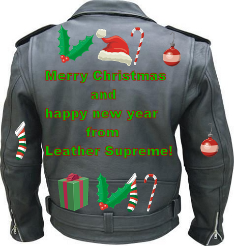 Happy holidays from Leather Supreme