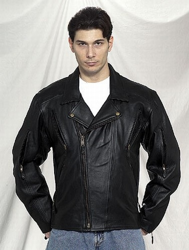 mens motorcycle naked leather jacket