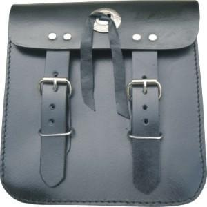 leather motorcycle sissy bar bags