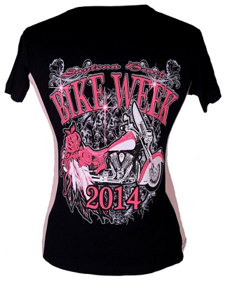 Womens bike week t shirt