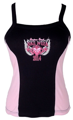 Womens bike week tank tops