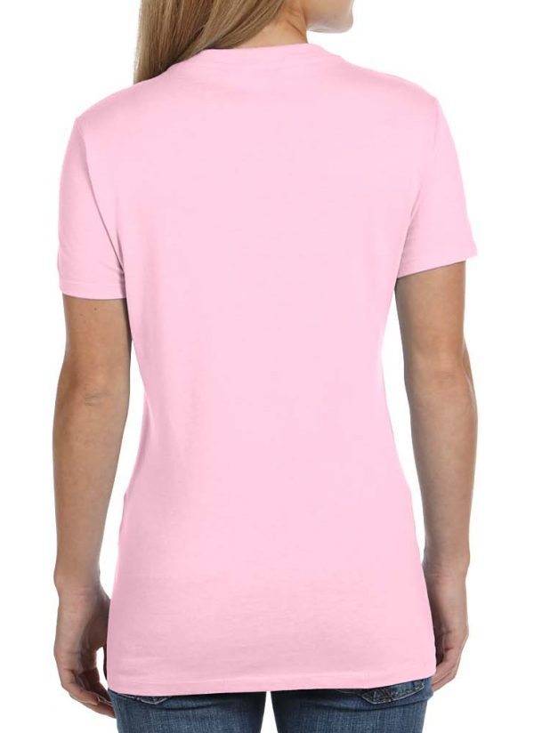 Lady pink tee