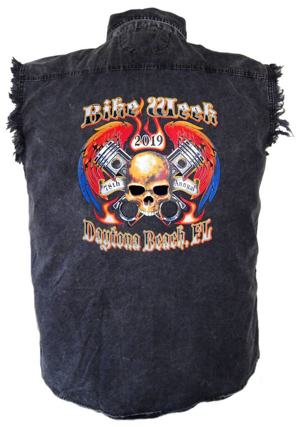bike week 2019 biker shirt
