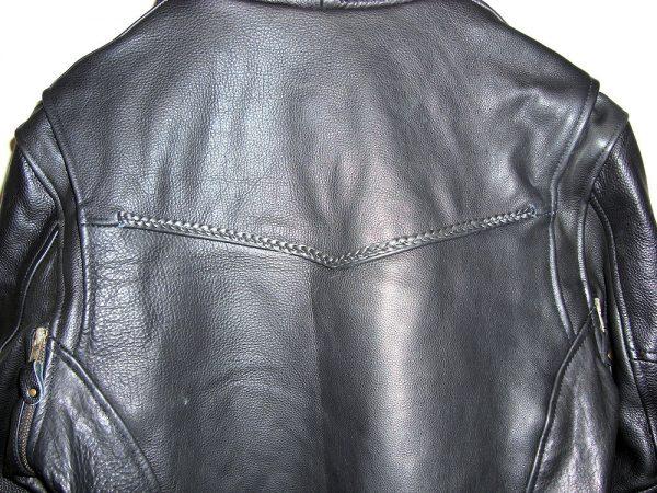 mens pistol pete style leather jacket