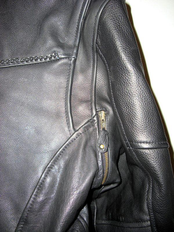 pistol pete style leather jacket