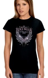 Rhinestone bike week shirt