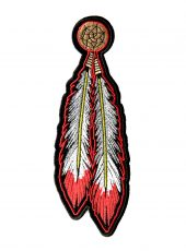 red Indian patch