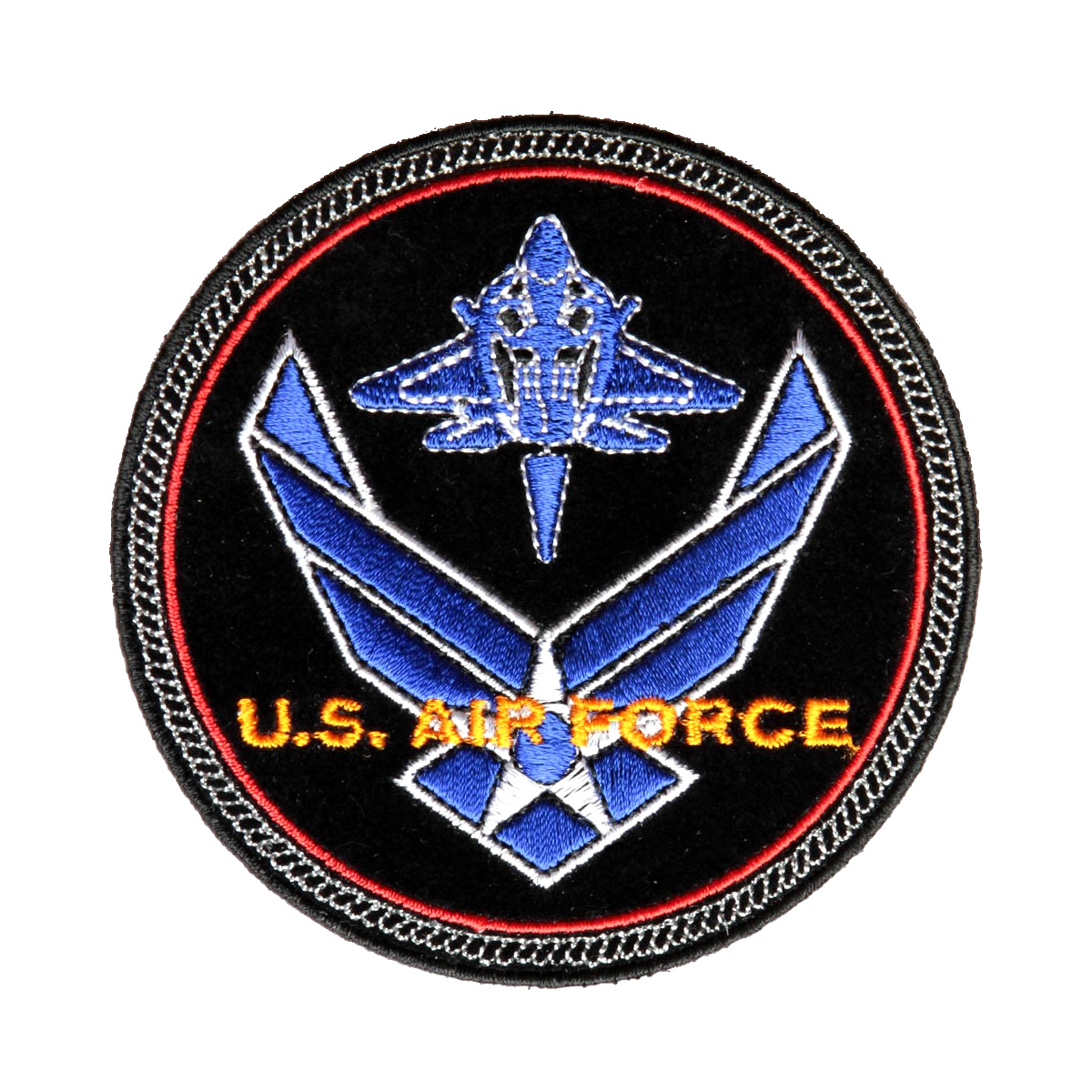0b2751a86a627 US Air Force Round Embroidered Patch