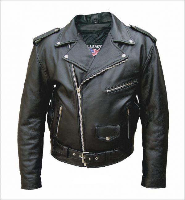 mens buffalo leather jacket