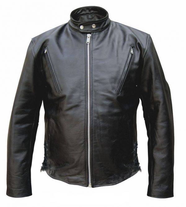 mens scooter leather jacket