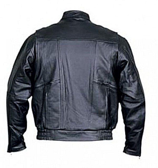 mens bomber leather jacket