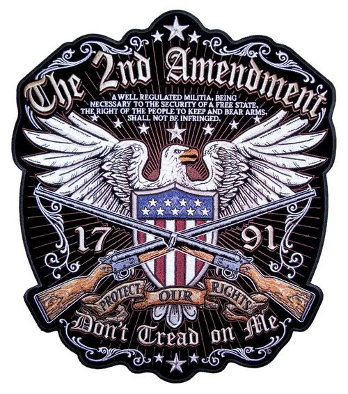 second amendment patches