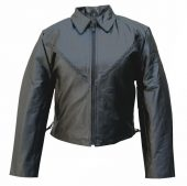 ladies cowhide leather jacket