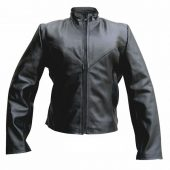 ladies buffalo leather jacket