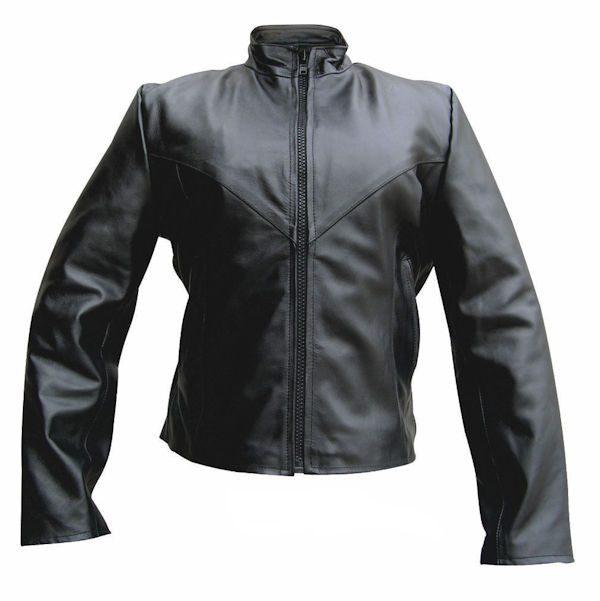 ladies buffalo leather jacket