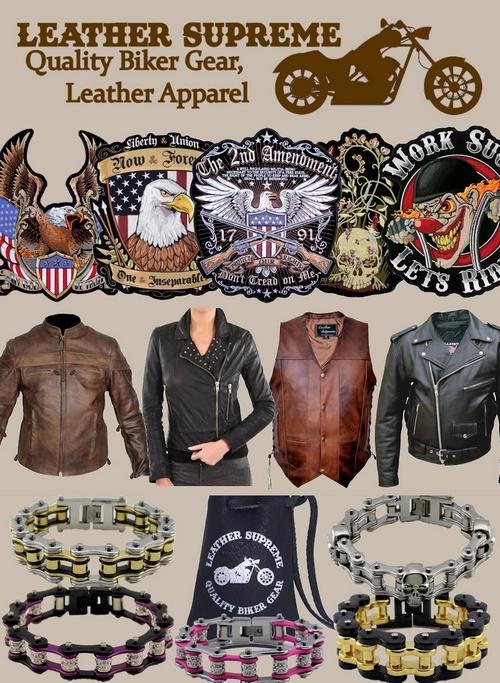 Leather Supreme sale