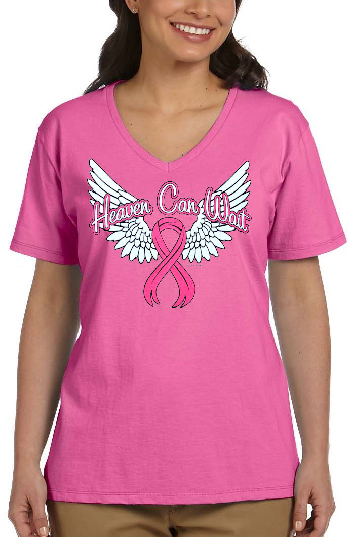 In October We Wear Pink Breast Cancer Awareness T-Shirt-CL