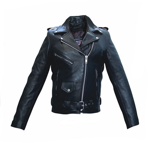 ladies naked cowhide leather jacket