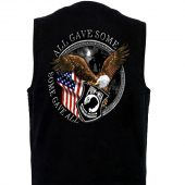 Designed Denim Vest