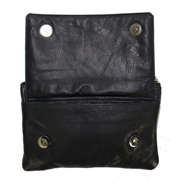 ladies leather bag inside