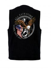 POW-MIA Veteran denim vest