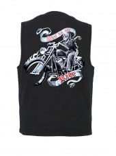 shut up and ride designer vest
