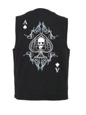 skull and ace playing card designer