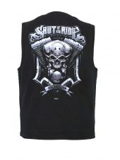 mens shut up and ride designer vest