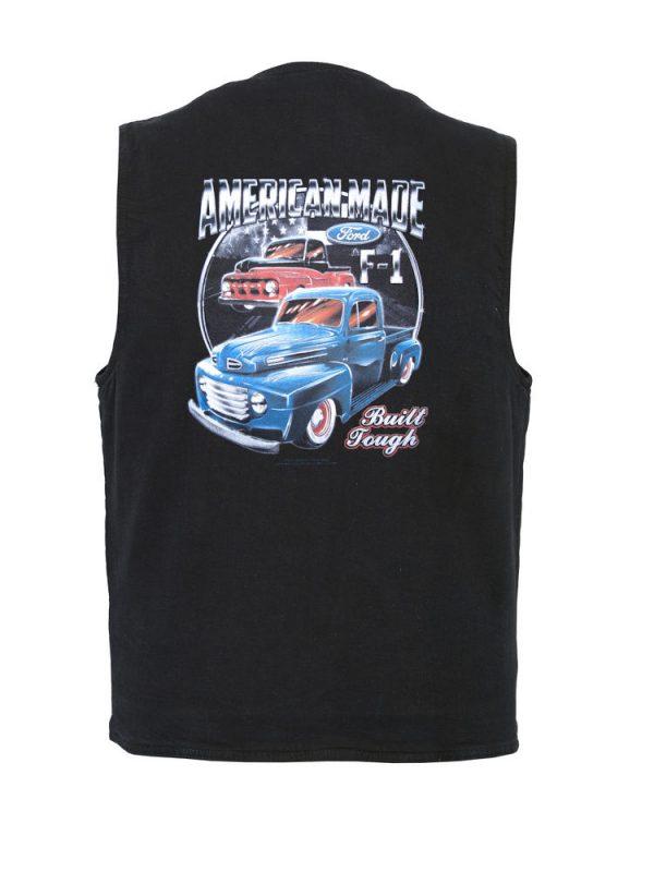 american made ford designer vest