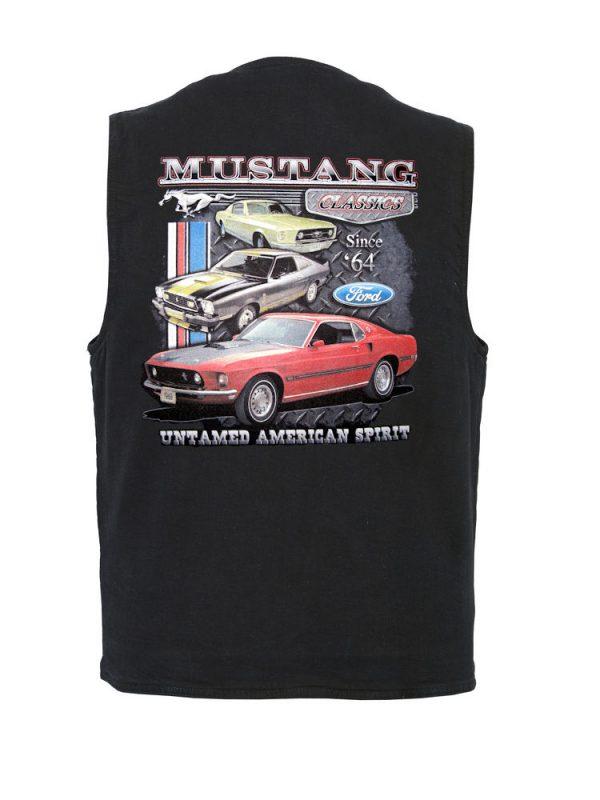 mustangs classic cars designer vest