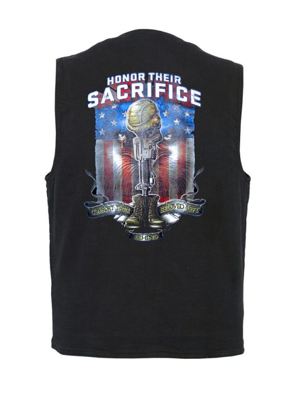 honor their sacrifice designer vest