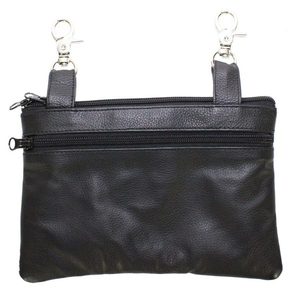 ladies leather purse back