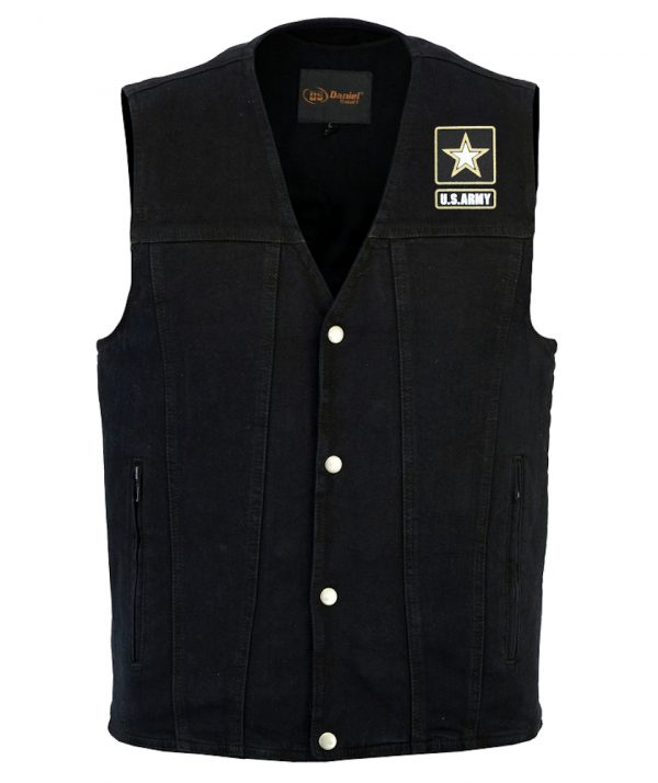 mens united states army designer vest