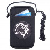 womens smart phone case holder with Capricorn patch design