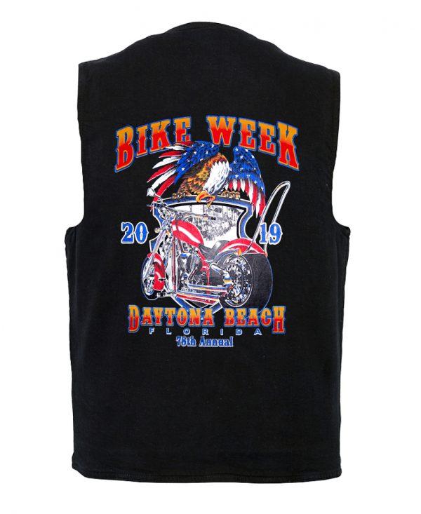Daytona bike week men's vest