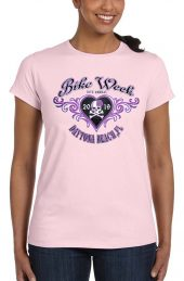 Ladies bike week tee